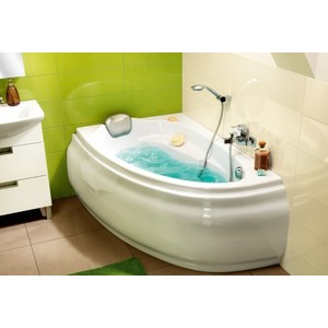 Фотография товара ванна Cersanit Joanna 140x90 см, левая, белая (P-WA-JOANNA*140-L) (564060)