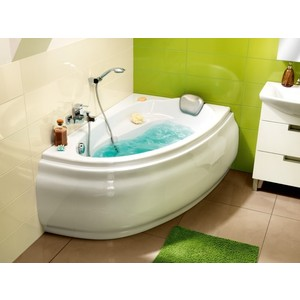 все цены на Ванна Cersanit Joanna 140x90 см, правая, белая (P-WA-JOANNA*140-P) онлайн