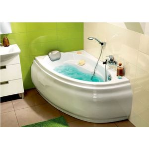 цены Ванна Cersanit Joanna 150x95 см, левая, белая (P-WA-JOANNA*150-L)