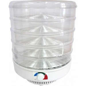 Сушилка для овощей Спектр-Прибор ЭСОФ-2-0,6/220 Ветерок-2, 5 поддонов (прозрачный)