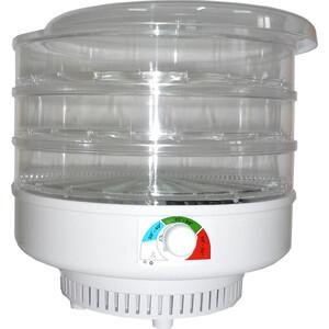 Сушилка для овощей Спектр-Прибор ЭСОФ-0,5/220 Ветерок, 3 поддона (прозрачный) аппарат для хот догов спектр прибор мечта эс 0 8 220