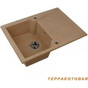 Мойка кухонная Акватон Монца 68x51x19 см терракотовая (1A716032MC070)