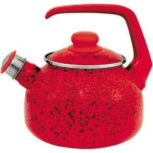 Чайник эмалированный со свистком 2.5  Metrot Эмина Рубин (083156)