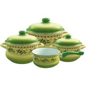 Набор посуды 7 предметов Metrot Эмина Оливки (083210)