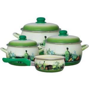 Набор посуды 7 предметов Metrot Эксклюзив Тоскана (135859)