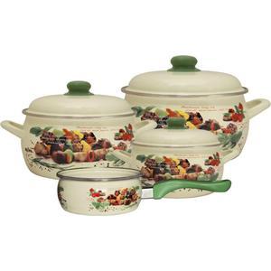 Набор посуды 7 предметов Metrot Эксклюзив Пикник (142728) набор посуды metrot оливки