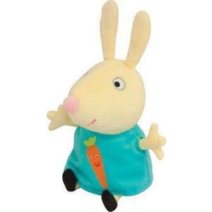 Мягкая игрушка Росмэн Ребекка с морковкой 20см Peppa Pig (29624)
