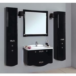 Светильник Акватон Венеция 3012/M/CR хром, плафон черный (1AX015SVXX000) акватон мебель для ванной акватон венеция 75 черная