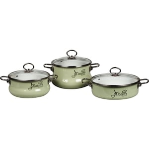 Набор посуды 3 предмета Vitross Maestro (8DT175S салатовый) набор maestro kit k8052 2 гр