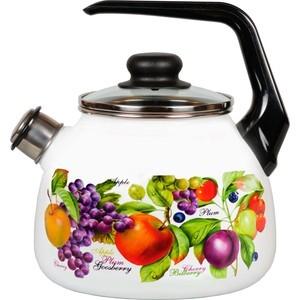 Чайник эмалированный со свистком 3.0 л Vitross Confitura (1RC12) чайник сф со св 3 0лtango 1rc12 983440