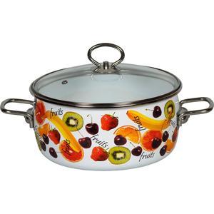 Фотография товара кастрюля эмалированная 4.0 л Vitross Fruits (1SC205S) (565132)