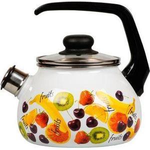 Чайник эмалированный со свистком 2.0 л Vitross Fruits (1RA12) цена и фото