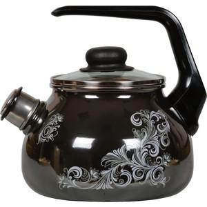 Чайник эмалированный со свистком 2.0 л Vitross Iseberg (1RA12) riess чайник со свистком pastell 2 л 0543 015 rosa riess