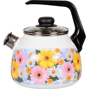 Чайник эмалированный со свистком 3.0 л Vitross Fernanda (1RC12) чайник сф со св 3 0лtango 1rc12 983440