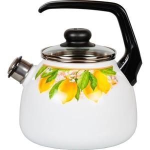 Чайник эмалированный со свистком 3.0 л Vitross Limon (1RC12) цена