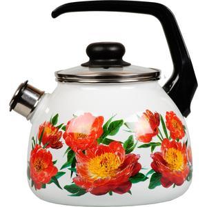 Чайник эмалированный со свистком 3.0 л Vitross Peony (1RC12 )