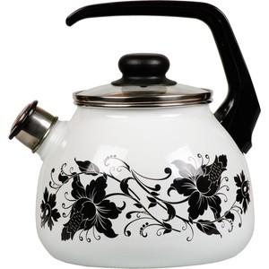 Чайник эмалированный со свистком 3.0 л Vitross Tango (1RC12) чайник со свистком vitross violeta