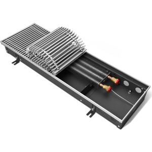 Конвектор отопления Techno внутрипольный с естественной конвекцией без решетки (KVZ 200-85-800)
