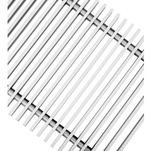 Декоративная решетка Techno для конвектора 250х1800 (РРА 250-1800/С) от ТЕХПОРТ