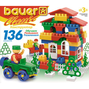 Конструктор Bauer серии Classic 136 эл 24/24 (197)