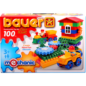 Конструктор Bauer серии Mechanic 100 parts Fairy house Избушка 16/16 (188)