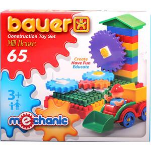 Конструктор Bauer серии Mechanic 65 parts Mill house Мельница малая 24/24 (189)