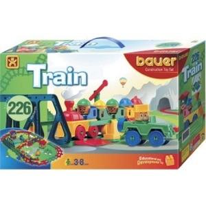 Конструктор Bauer серии Железная дорога 200 эл 12/12 (255) железная дорога 1toy супер экспресс новые дороги 59 эл