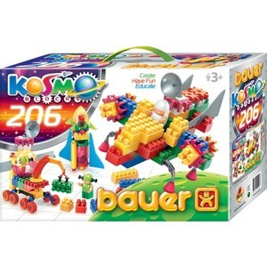 Конструктор Bauer серия Космос 206 эл 16/16, м5/5 (269) коммутатор zyxel gs1100 16 gs1100 16 eu0101f