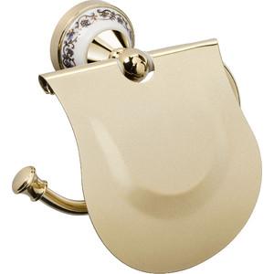 Бумагодержатель с крышкой Fixsen Bogema Gold (FX-78510G) бумагодержатель без крышки fixsen retro fx 83810a