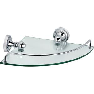 Полка угловая стекло 24x34x7 см Fixsen Style (FX-41103A) крючок двойной fixsen style fx 41105a