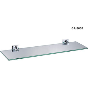 Полка стеклянная 52 см Grampus Ocean (GR-2003) дозатор жидкого мыла grampus ocean gr 2012