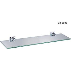 Полка стеклянная 52 см Grampus Ocean (GR-2003) полка стеклянная 52 см grampus laguna gr 7803