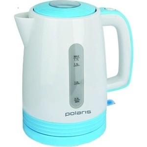 Чайник электрический Polaris PWK 1775C белый-голубой