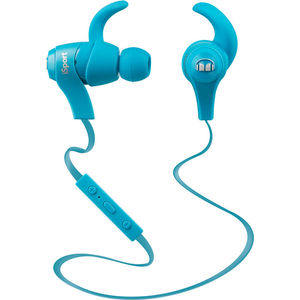 Наушники Monster iSport Bluetooth Wireless In-Ear blue (128659-00) охватывающие наушники monster adidas originals over ear headphones blue