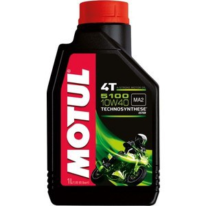Моторное масло MOTUL 5100 4T 10W-40 1 л моторное масло motul atv power 4t 5w 40 4 л