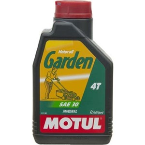 Моторное масло MOTUL Garden 4T SAE 30 1 л моторное масло motul 8100 eco nergy 0w 30 5 л