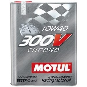 Моторное масло MOTUL 300V Chrono 10W-40 2 л моторное масло motul 300 v 4t fl road racing 10w 40 4 л