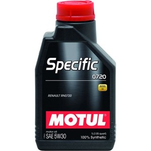 Моторное масло MOTUL Specific 0720 5W-30 1 л моторное масло motul power lcv ultra 10w 40 5 л
