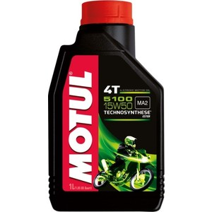 Моторное масло MOTUL 5100 4T 15W-50 1 л моторное масло motul atv power 4t 5w 40 4 л