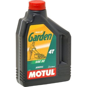 Моторное масло MOTUL Garden 4T SAE 30 2 л моторное масло motul 300 v 4t fl road racing 10w 40 4 л