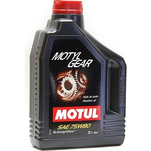 Трансмиссионное масло MOTUL MotylGear 75W-80 2 л трансмиссионное масло mobilube1 shc 75w 90 1л