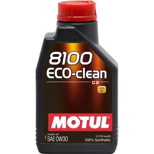 Моторное масло MOTUL 8100 Eco-clean 0W-30 1 л candino classic c4457 1