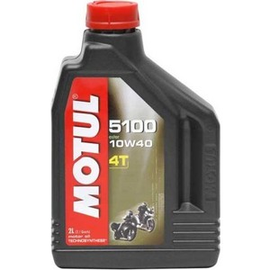 Моторное масло MOTUL 5100 4T 10W-40 2 л моторное масло motul power lcv ultra 10w 40 5 л