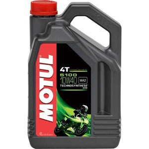 Моторное масло MOTUL 5100 4T 10W-40 4 л моторное масло motul power lcv ultra 10w 40 5 л