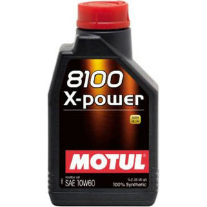 Моторное масло MOTUL 8100 X-Power 10W-60 1 л моторное масло motul 300v chrono 10w 40 2 л