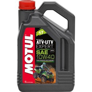 Моторное масло MOTUL ATV-UTV Expert 4T 10W-40 4 л моторное масло motul 300 v 4t fl road racing 10w 40 4 л