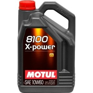 цена на Моторное масло MOTUL 8100 X-Power 10W-60 5 л