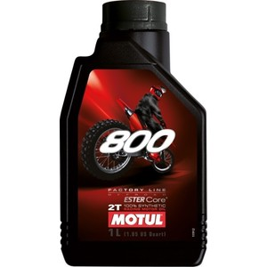 Моторное масло MOTUL 800 2T Factory Line Off Road 1 л off line pубашка