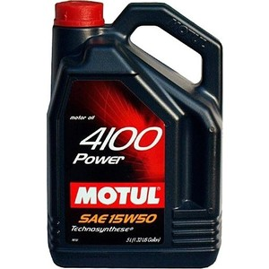 Моторное масло MOTUL 4100 Power 15W-50 4 л