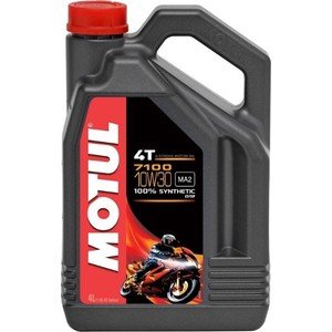 Моторное масло MOTUL 7100 4T 10W-30 4 л моторное масло motul power lcv ultra 10w 40 5 л